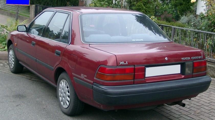 Toyota Carina II XLI rear
