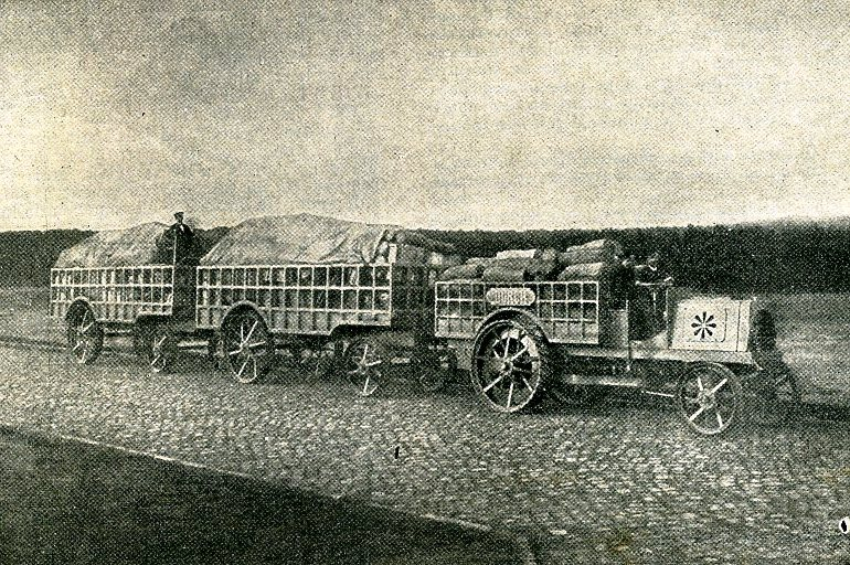 Train automobile