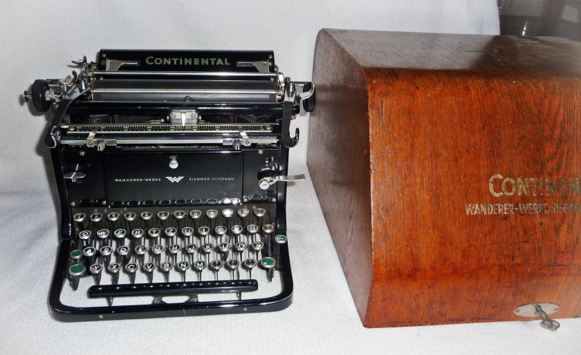 Wanderer Continental Schreibmaschine