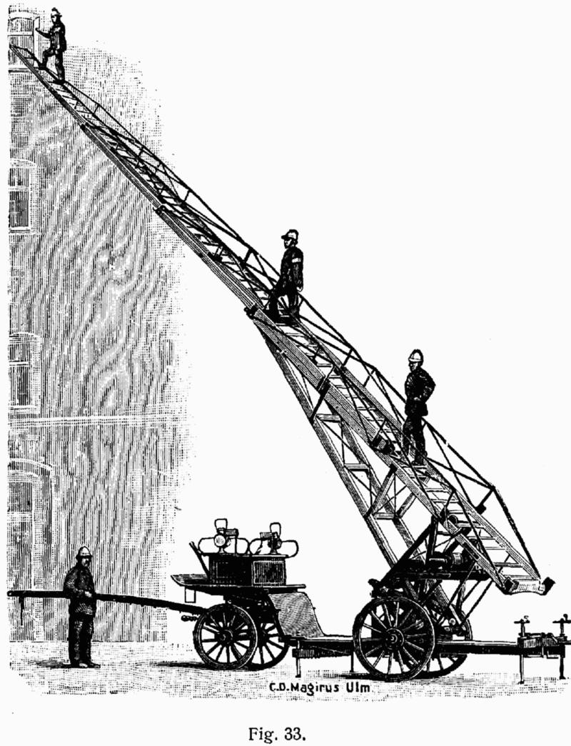 1904 Magirus Ulm L-feuerwehr