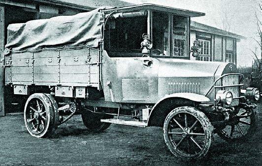 1917 Magirus 3К1