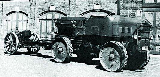 1918 Magirus 70PS, 4x4