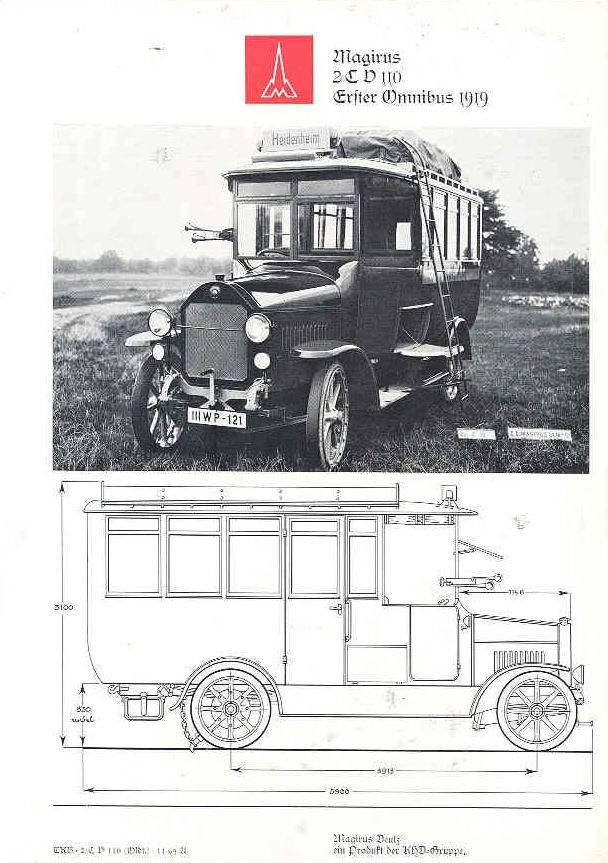 1919 Magirus Deutz wl53