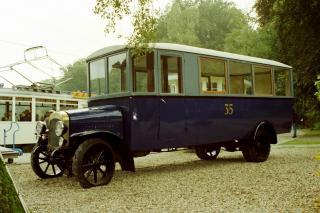 1925 Magirus M1007 carr. Allan Rotterdam GTA 35 Stadsbus 1925 gebruikt van 1926-1936