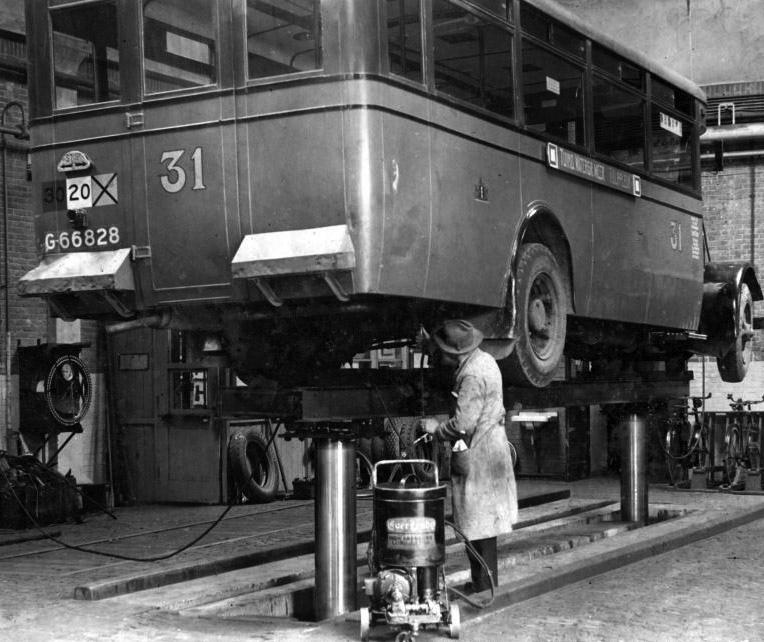 1929 Magirus Werkspoor Autobus G-66828, Amsterdam