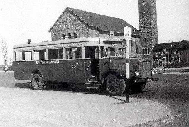 1931 Magirus M1007 - Werkspoor, Zuilen  A'dam