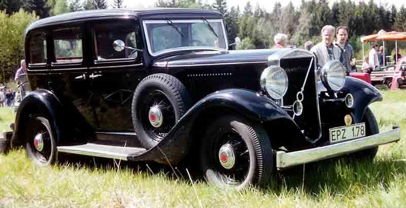 1933 Volvo PV654 4-Door Sedan