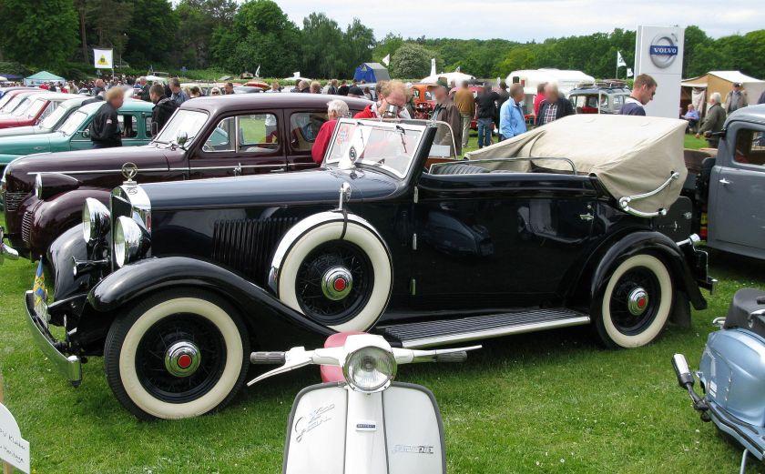 1933 Volvo PV655 Cabriolet