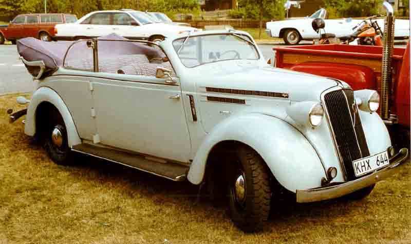 1937 Volvo PV51 Cabriolet