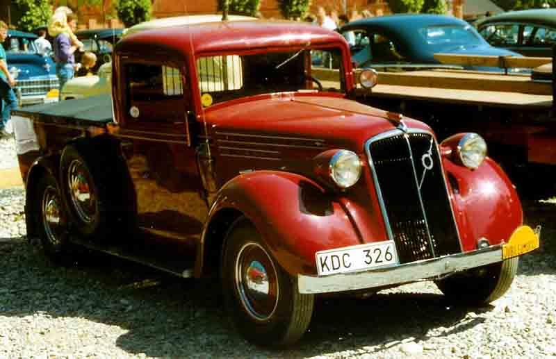 1938 Volvo PV51 TV Pickup