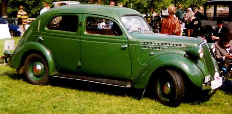 1938 Volvo PV52 4-Door Sedan