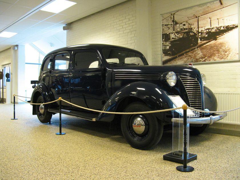 1938 Volvo TR802 Taxi
