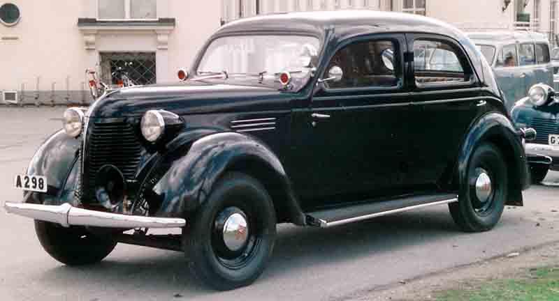 1939 Volvo PV56 4-Door Sedan