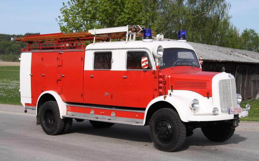 1942 Feuerwehrfahrzeug mit Klöckner-Deutz-Logo, Baujahr 1942a