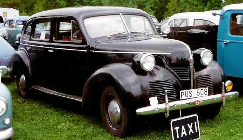 1946 Volvo PV60 Sedan Taxi