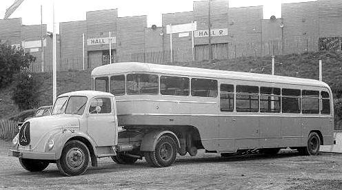 1950 Magirus Deutz Bus Truck