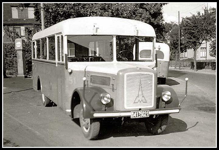1950 Magirus Nachkriegszeit