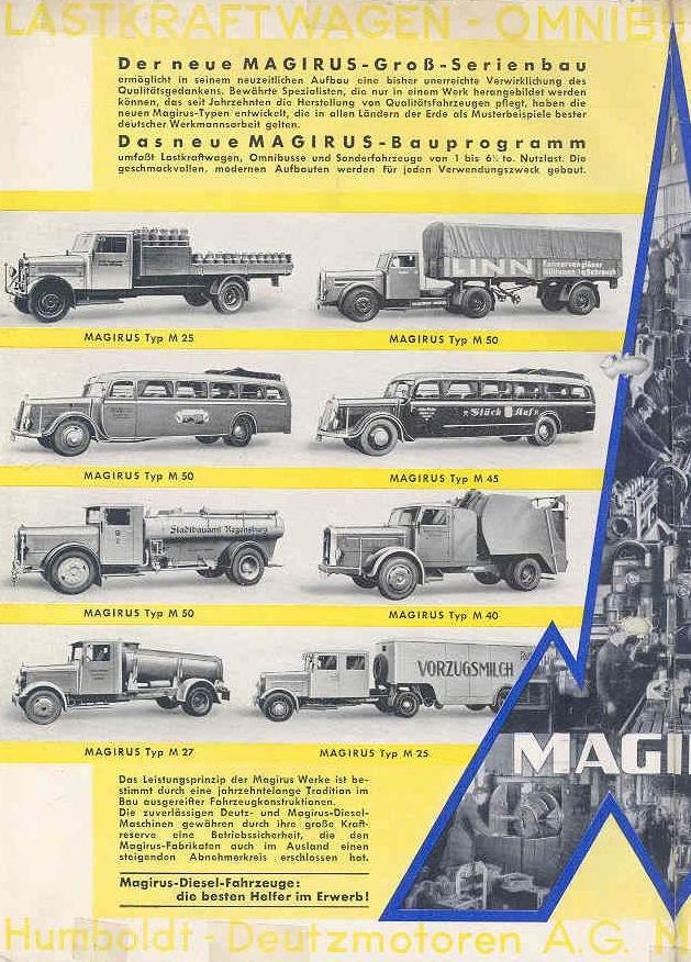1950 MAGIRUS woAA