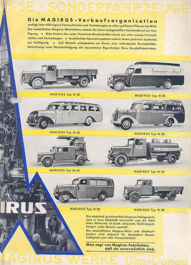 1950 MAGIRUS woBB