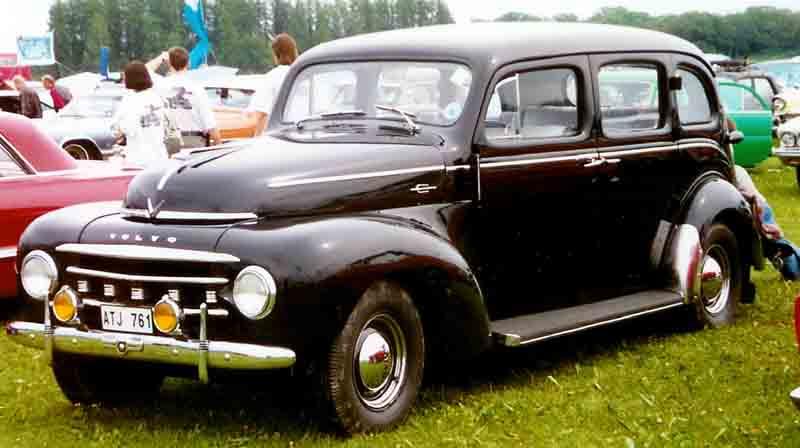 1950 Volvo PV832 4-Door Sedan