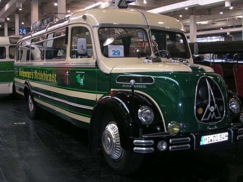 1951 Magirus 03500 bus