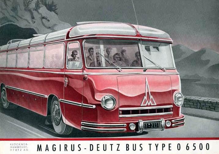 1951 Magirus Deutzbus Type O 6500