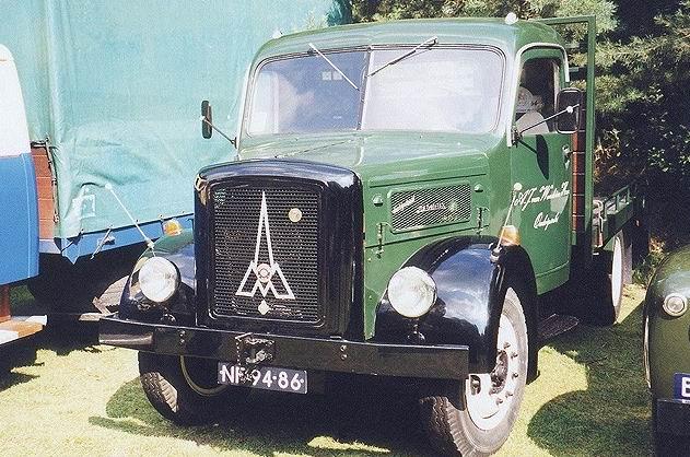 1951 Magirus S 3500 Autotransporter