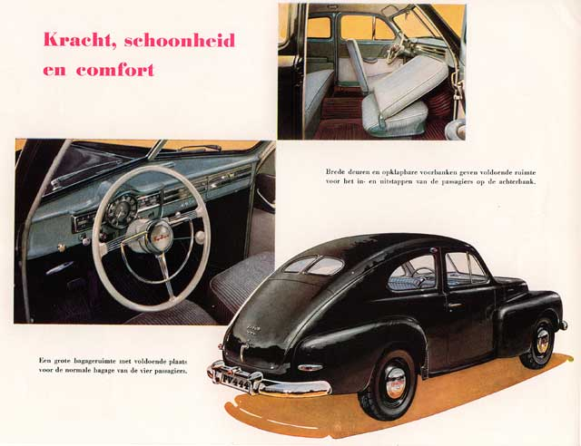 PORSCHE 356 photo du 1er modéle de 1948 N°4450 Auto: tijdschriften en boekjes