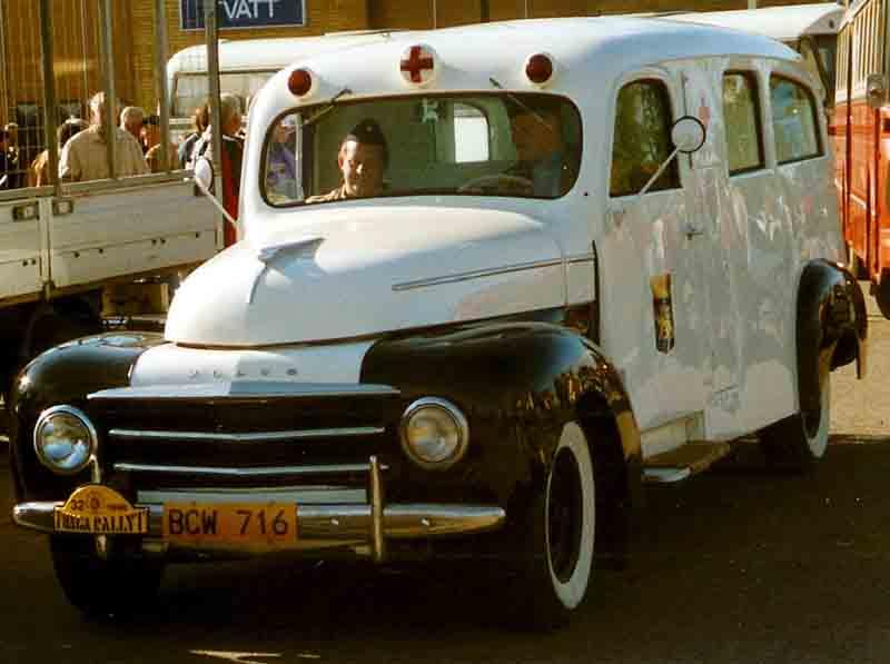 1951 Volvo PV834 Ambulance