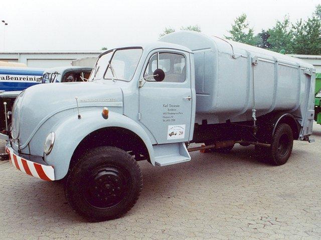 1952 Magirus Komunalfahrzeug