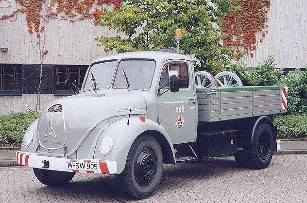 1952 Magirus Sirius 85 D 7 Kurzpritschen-Lkw