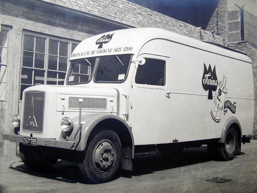 1952 Magirus type S 3500