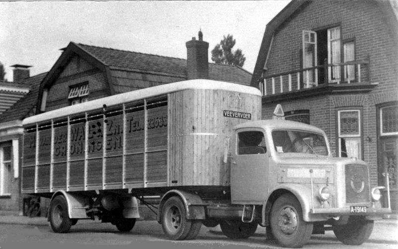 1952 Magirus Veevervoerde van der Wal