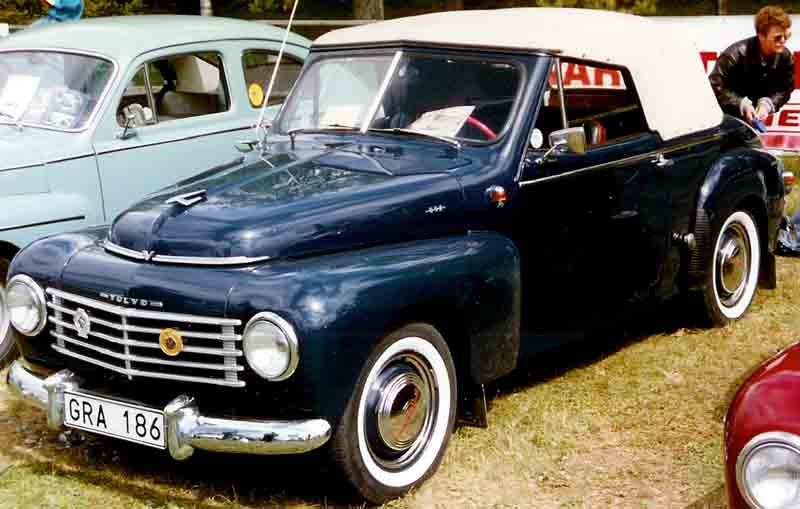 1952 Volvo PV445 Cabriolet Valbo