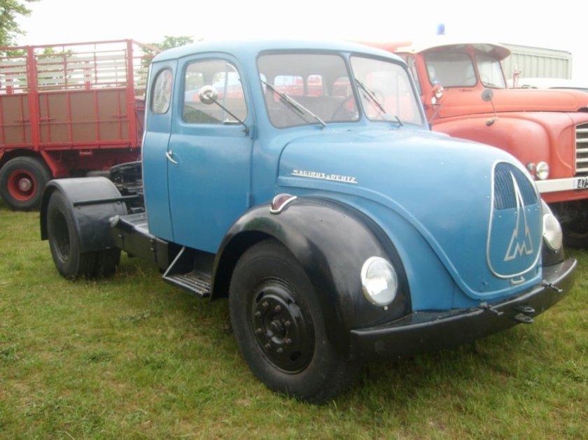 1953 Magirus Deutz S 4500 couchette