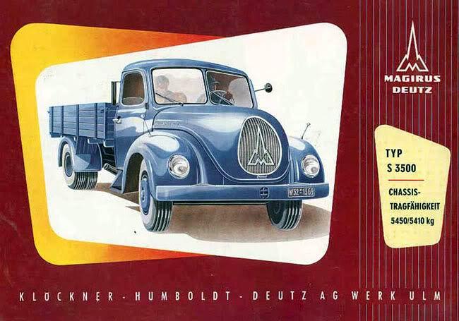 1953 Magirus Deutz Typ S3500