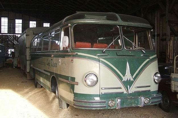 1953 Magirus O 3500 H Reisebus