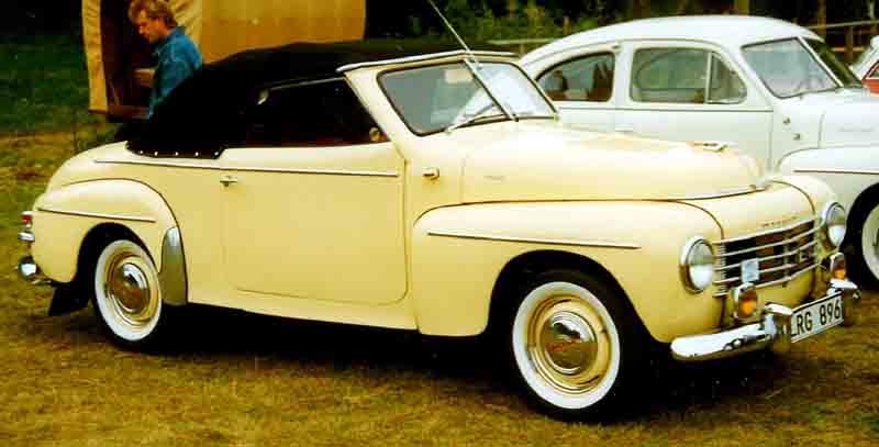 1953 Volvo PV445 Cabriolet Ringborg