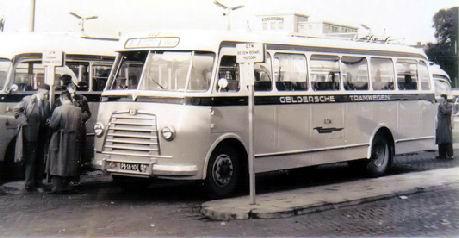 1954 Magirus Deutz O 3500-53A KHD F4L154 90pk carr Verheul GTW113