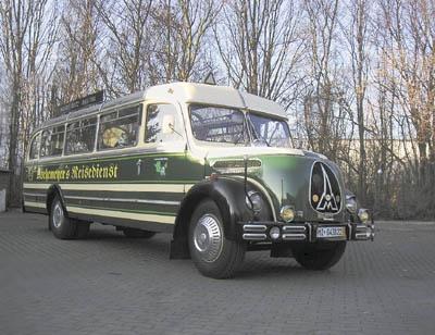1954 Magirus Klöckner-Humbolt-Deutz Magirus O 3500 7983cc