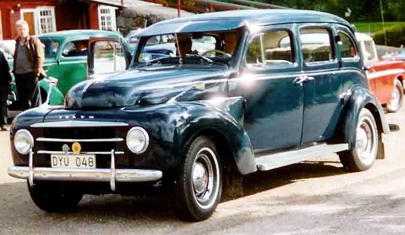1954 Volvo PV831 4-Door Sedan