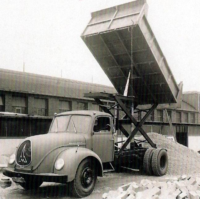 1955 Magirus Deutz S6500 Scherenhubkipper-teha