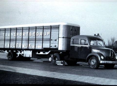 1955 Magirus Transport bedrijf