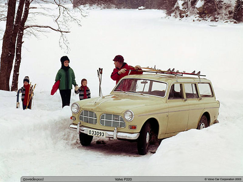 1956-70 Volvo 220 3