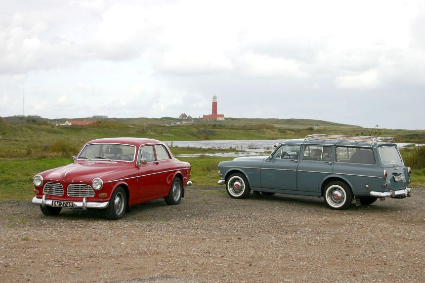 1956-70 Volvo Amazon Sedan P130 & Estate (Kombi) P220