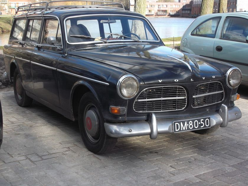 1956-70 Volvo stationwagon, P220 P221-34