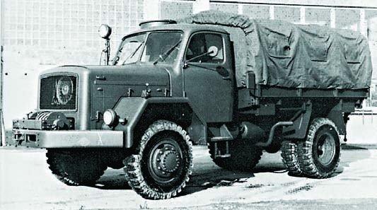 1956 Magirus-Deutz A6500, 4x4