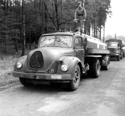 1956 Magirus Deutz S 6500