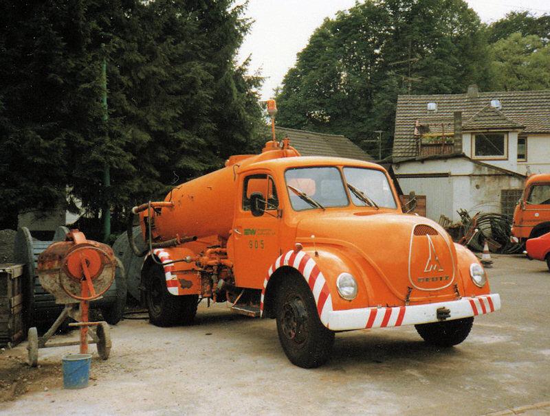 1956 Magirus Entsorgungswagen