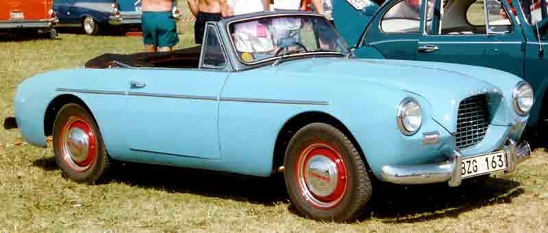 1956 Volvo P1900 Sport Cabriolet 1956